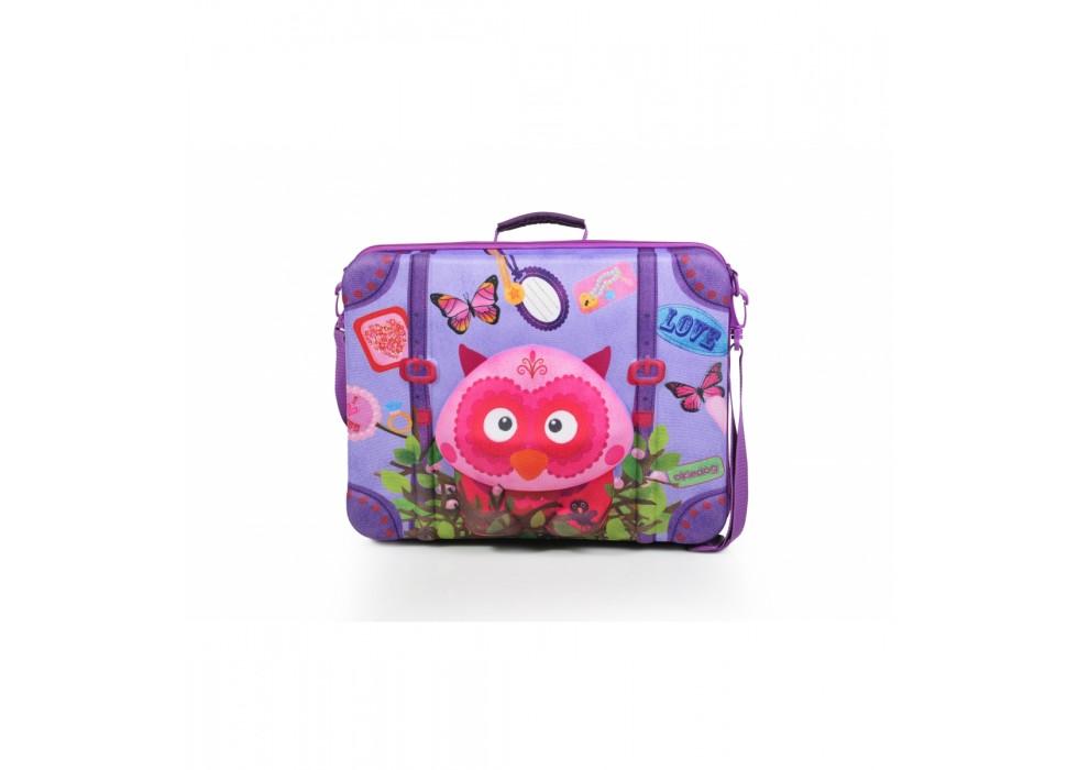 چمدان بی چرخ کودک اوکی داگ OkieDog مدل جغد Owl - کد 80073