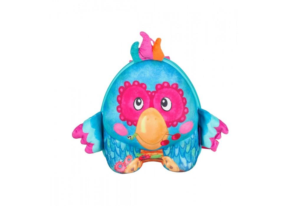 کوله پشتی کودک اوکی داگ OkieDog مدل طوطی Parrot - کد 80075