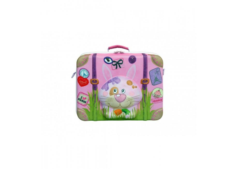 چمدان بی چرخ کودک اوکی داگ OkieDog مدل خرگوش Rabbit - کد 80009