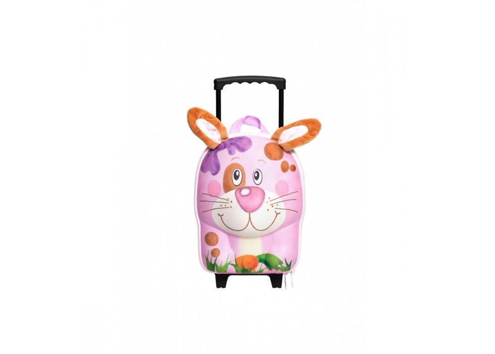چمدان چرخدار کوچک کودک اوکی داگ OkieDog مدل خرگوش Rabbit - کد 80013
