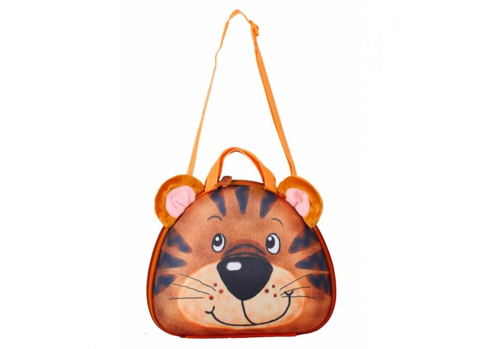 کیف دستی و رودوشی کودک اوکی داگ OkieDog مدل ببر Tiger - کد 80018