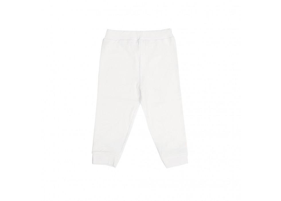 شلوارتمام نوزاد بی سی سی-BCC طرح سفید-White
