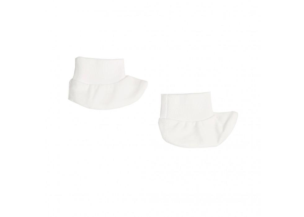 پاپوش نوزاد بی سی سی -BCC طرح سفید-White