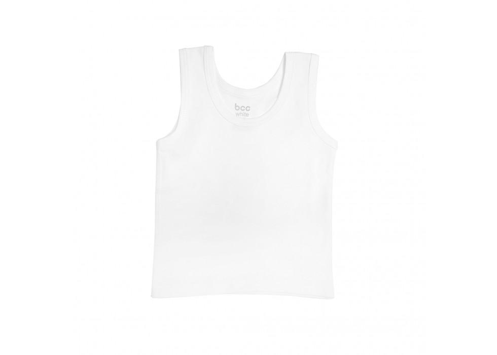 رکابی نوزاد بی سی سی-BCC طرح سفید-White