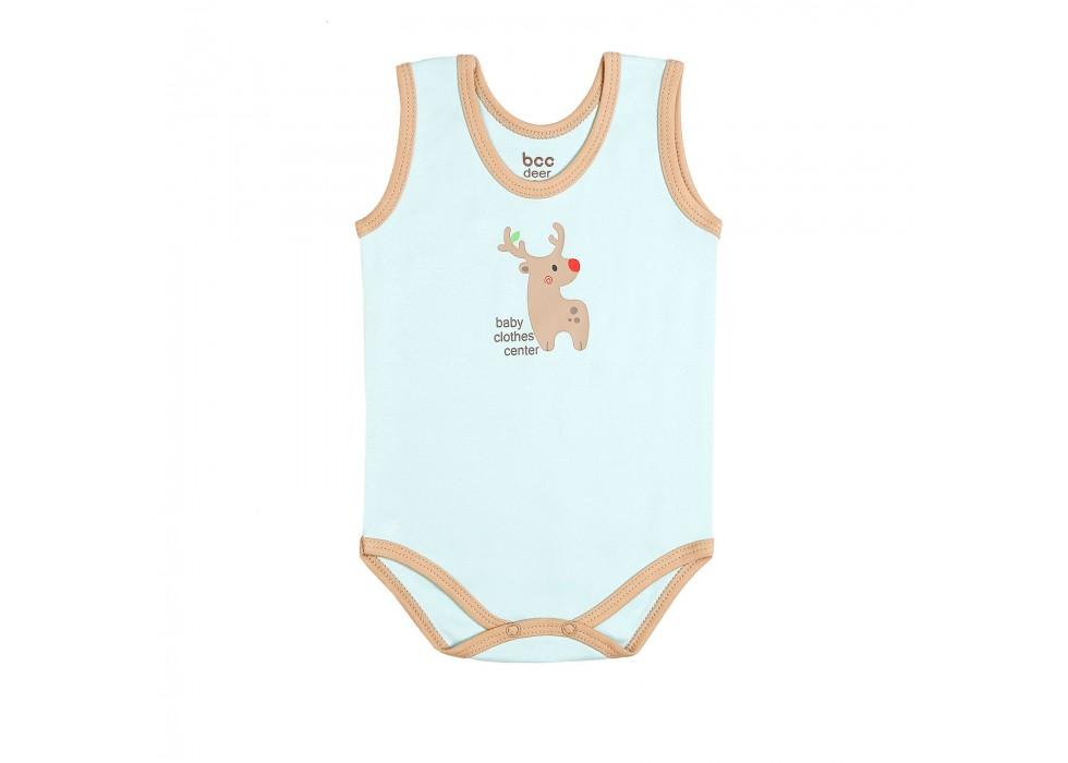 بادی رکابی نوزاد بی سی سی - BCC طرح گوزن-Deer