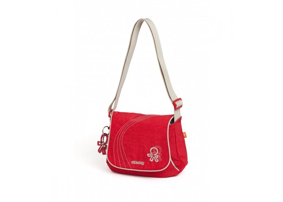 کیف مادر طرح جین قرمز اوکی داگ Okiedog-کد24300