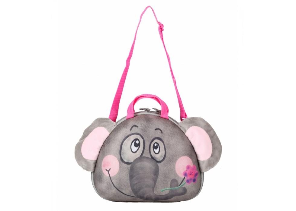 کیف دستی  و رودوشی بچگانه طرح فیل برند OKIEDOG کد   80017