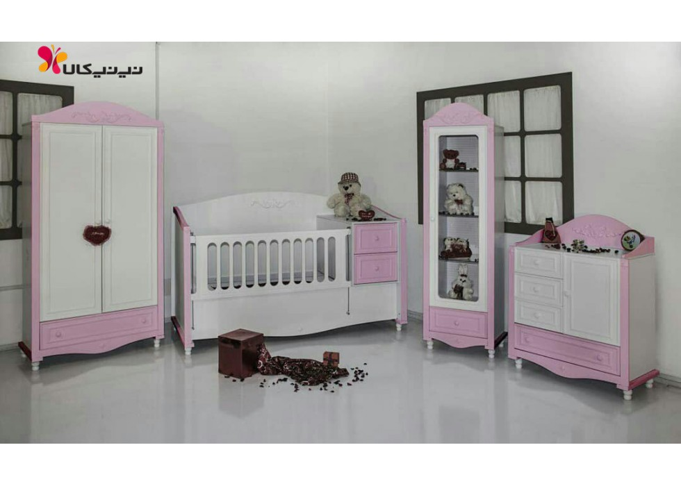 سرویس خواب نوزاد نوجوان مدل ارژن