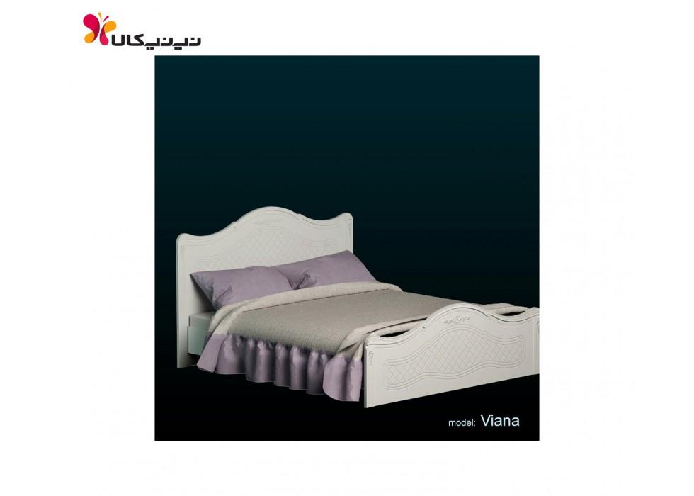 تخت دو نفره عرض 180 مدل ویانا