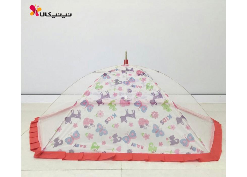 پشه بند نوزاد و کودک اسپرینگ-Espring مدل چتری 6 پایه