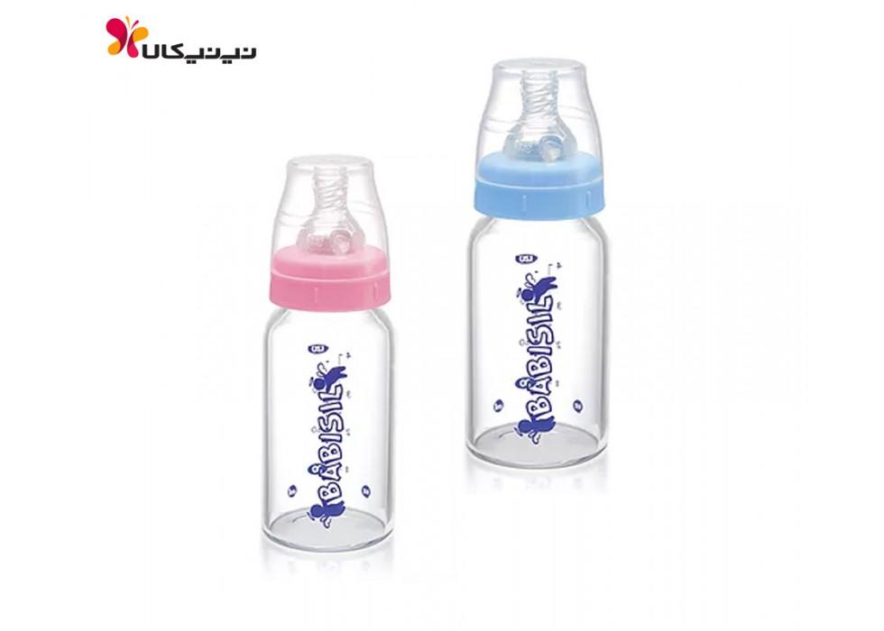 شیشه شیر پیرکس 120ml باریک بی بی سیل-Babisil کد 4413/4414