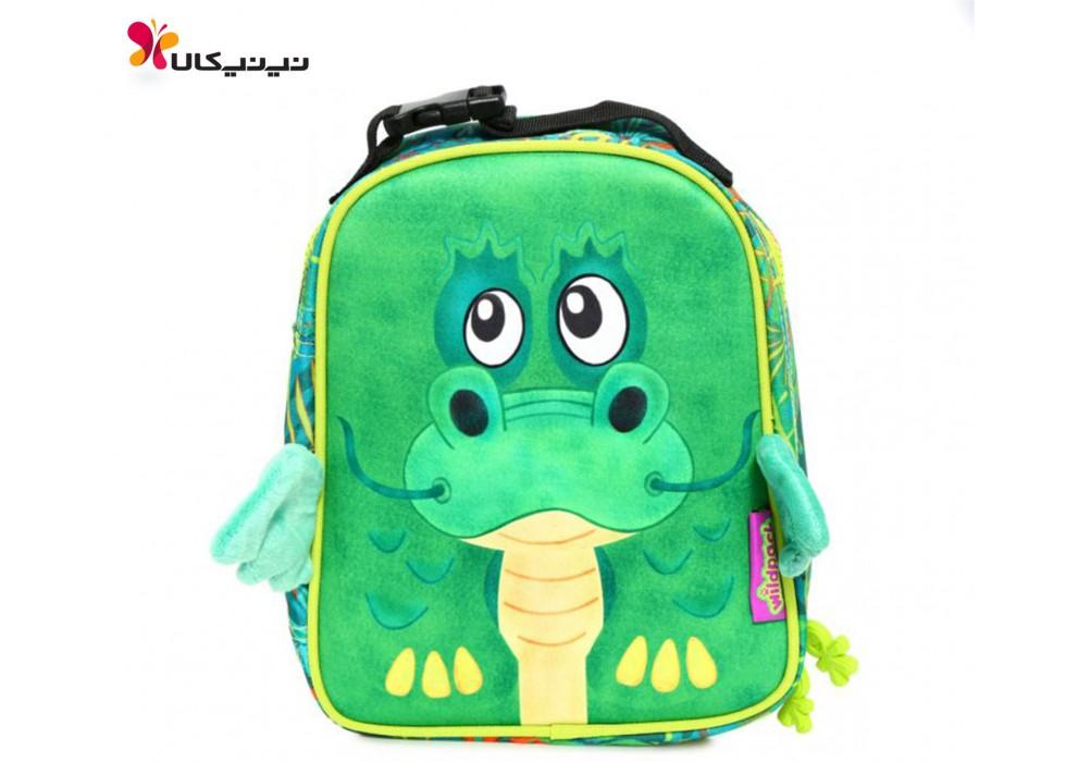 کیف غذای کودک اوکی داگ-Okiedog مدل اژدهای سبز کد 86021