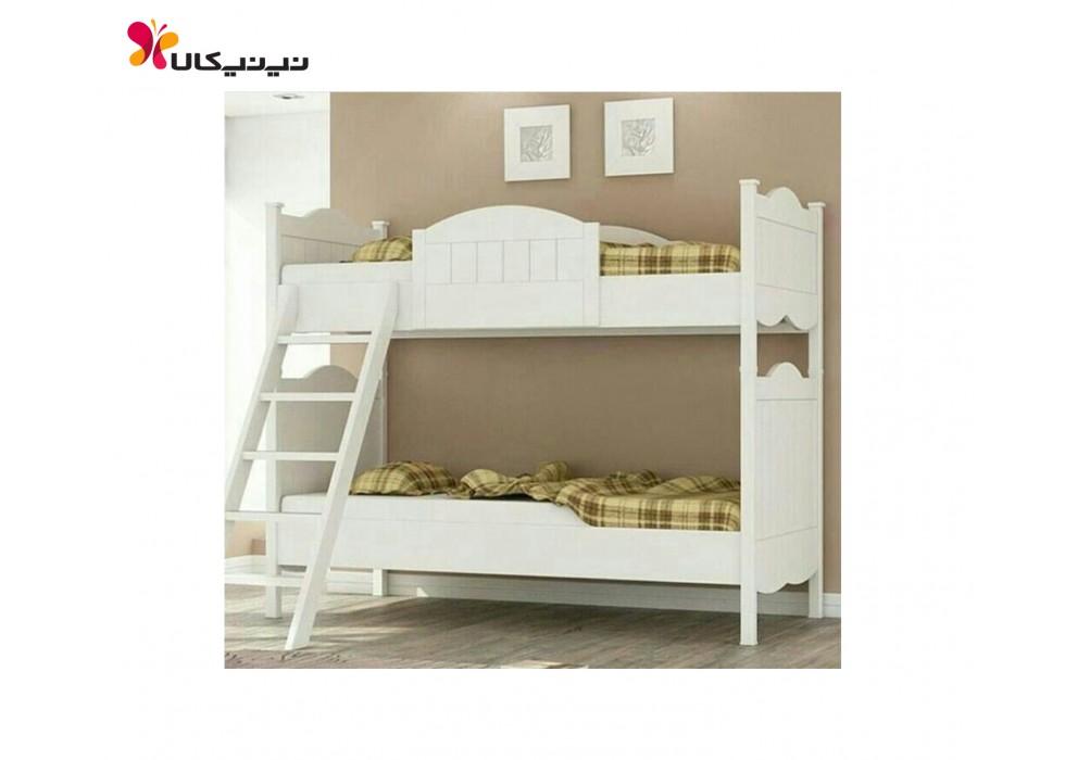 تخت دو طبقه نوزاد و نوجوان آمیسا مدل نیکا