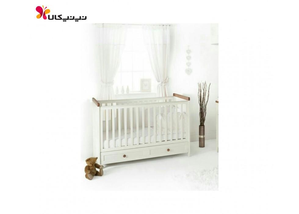 تخت نوزادی آمیسا مدل یاسمین