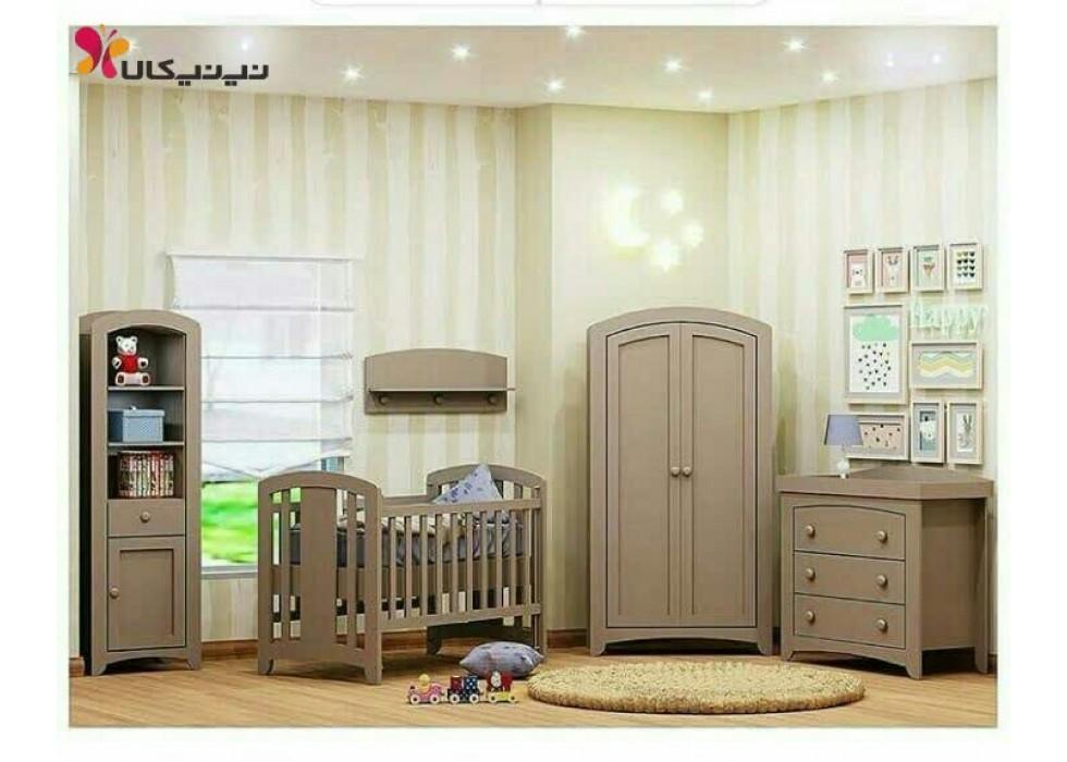 سرویس خواب نوزادی آمیسا مدل نایس