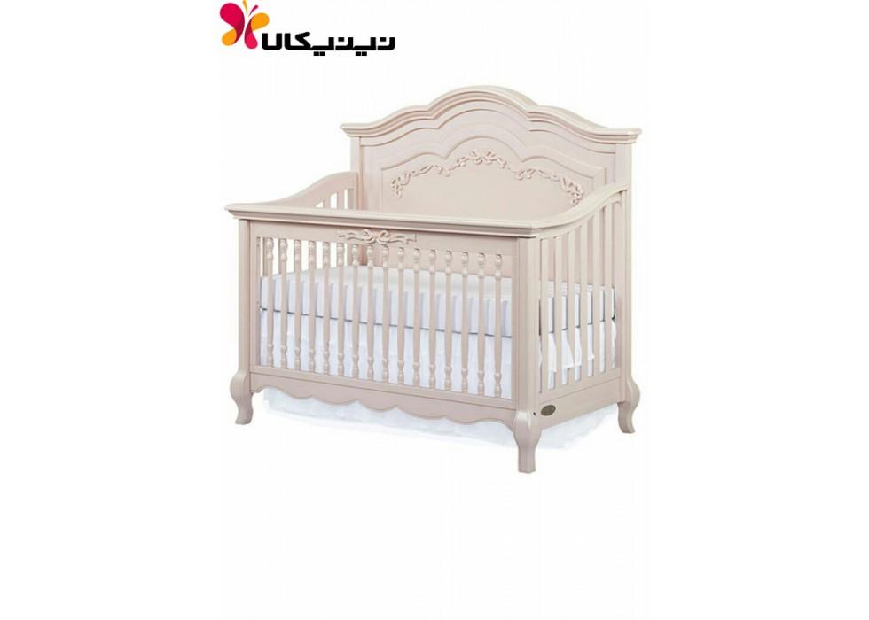 تخت چوبی نوزاد آمیسا مدل انزو