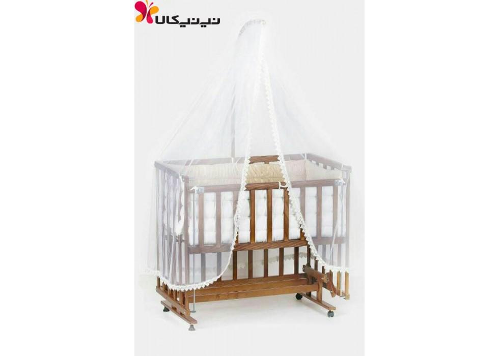 تخت و گهواره چوبی نوزاد ایرانی |