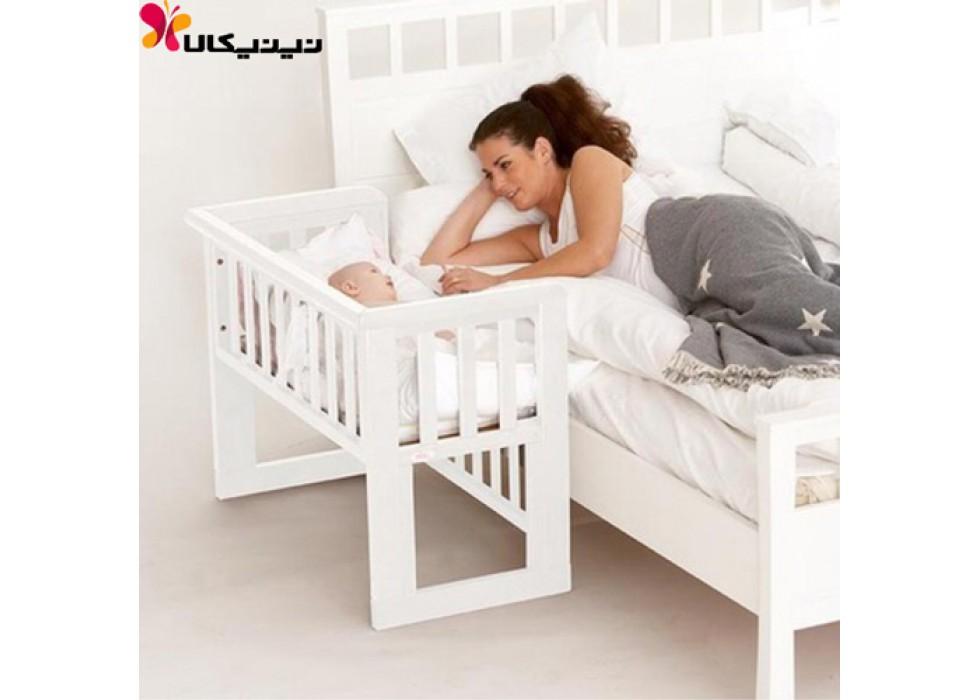 تخت نوزاد کنار مادر آمیسا مدل بردیا