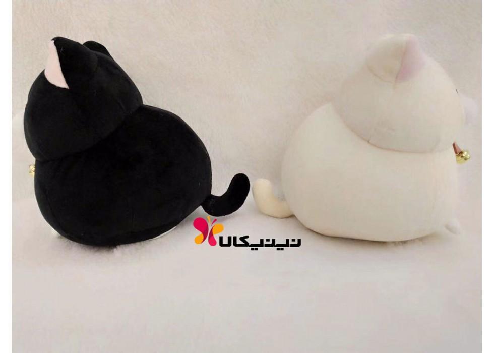 عروسک پولیشی کودک مدل گربه تپل بزرگ