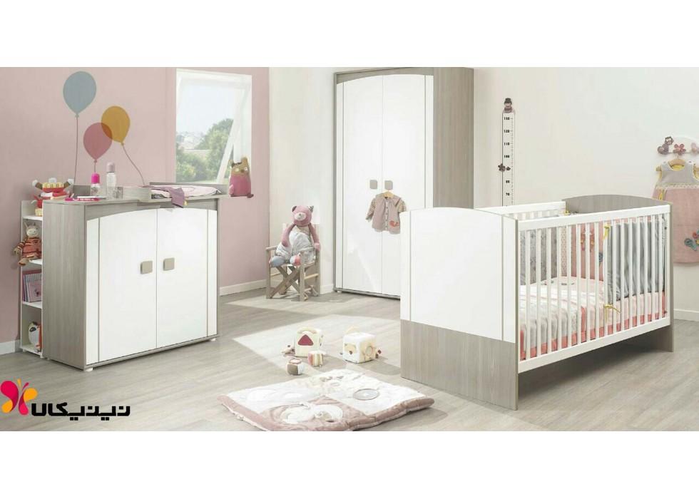سرویس خواب نوزاد آمیسا مدل پارسیا