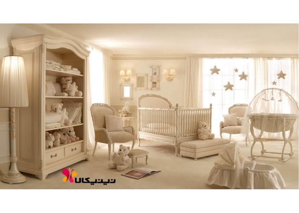 سرویس خواب چوبی نوزاد آمیسا مدل لیدوما