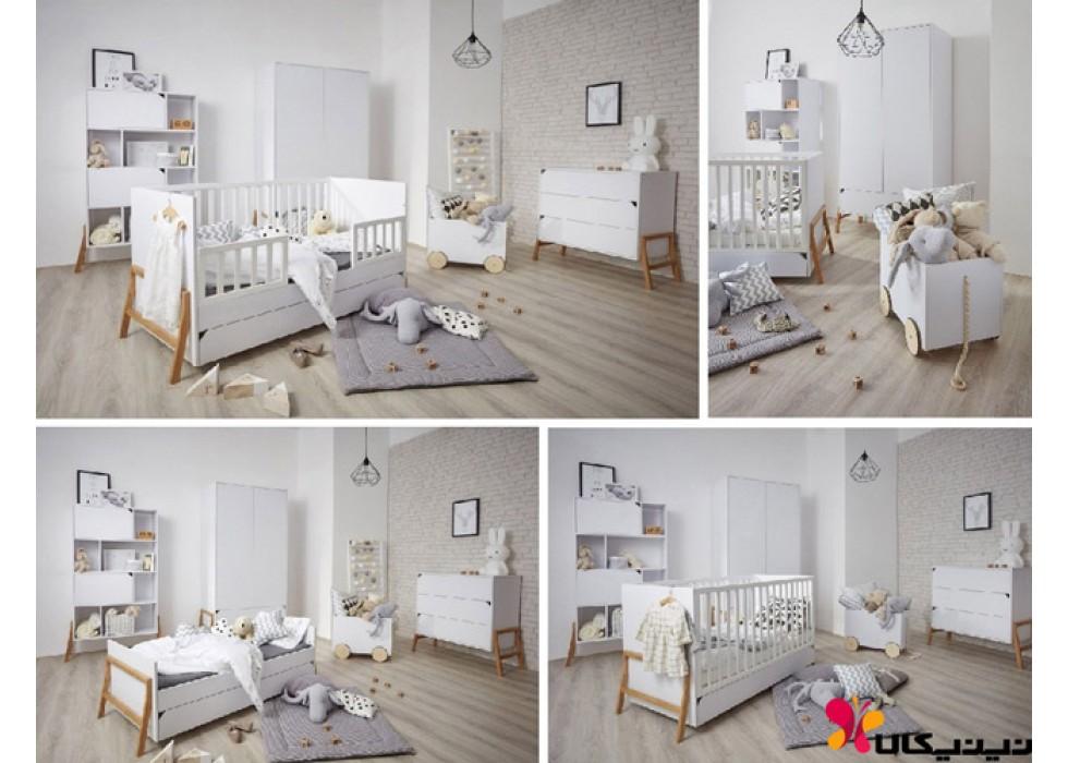 سرویس خواب نوزاد و نوجوان آمیسا مدل بونتیه