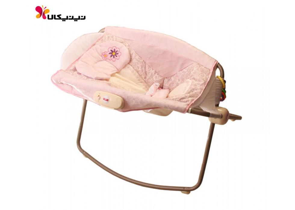تخت و گهواره نوزاد فیشر پرایس مدل Deluxe