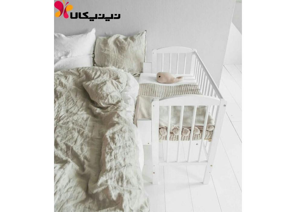 تخت نوزاد کنار مادر آمیسا مدل ماهانا
