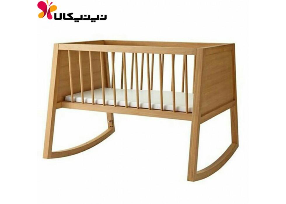 تخت و گهواره نوزاد آمیسا مدل دلاسا