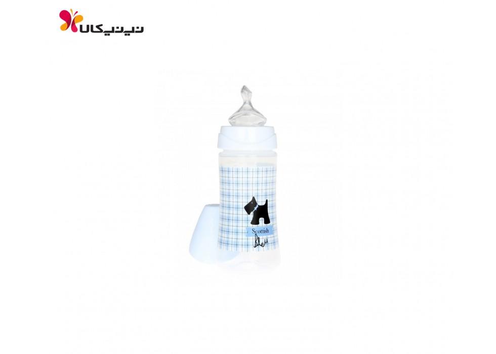 شیشه شیر  270 میل  سیلیکونی ارتودنسی  0 تا 6 ماه   سواوینکس  suavinex   کد  3800172