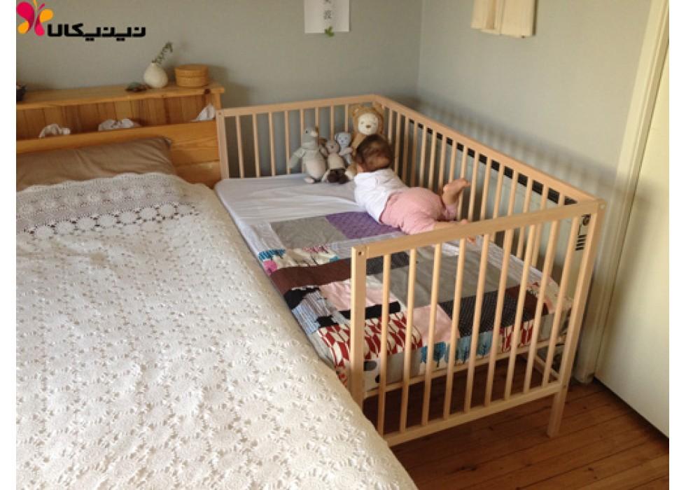 تخت نوزاد کنار مادر آمیسا مدل راشا