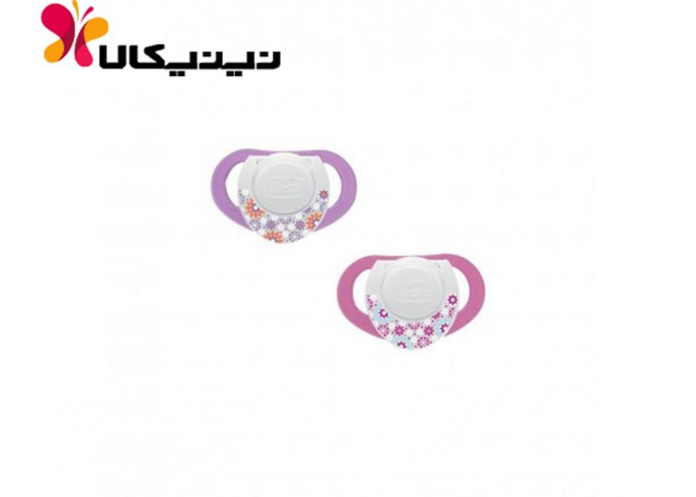 پستانک لاتکس نوزاد چیکو-Chicco مدل فیزیو 6-12 ماه