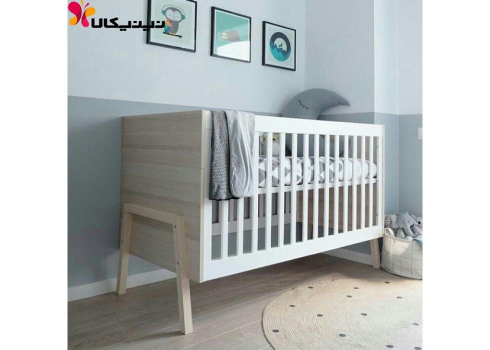 تخت نوزاد آمیسا مدل روبینا