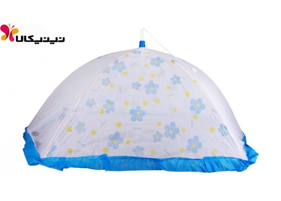 پشه بند نوزاد اسپرینگ مدل چتری 4 پایه 0 تا 18 ماه