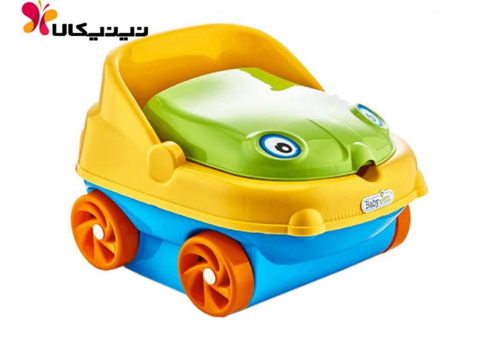 توالت فرنگی کودک بی بی جم-BabyJem مدل ماشین