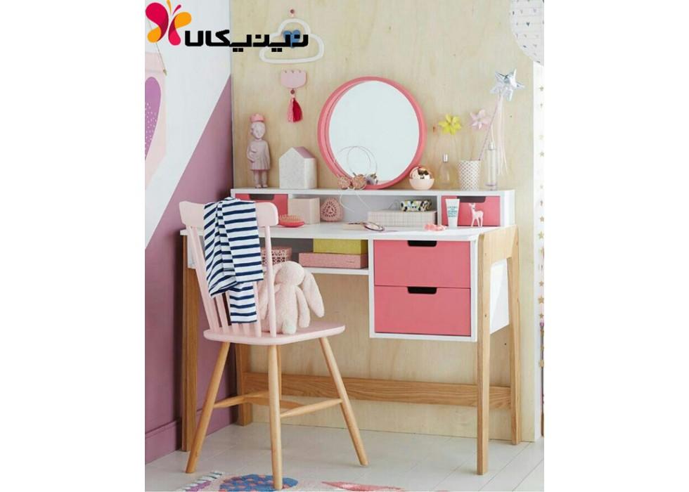 میز آرایش اتاق کودک آمیسا مدل گلسا