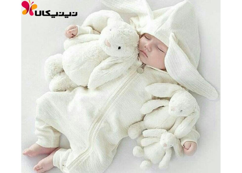 عروسک خرگوش جیلی کت سایز متوسط