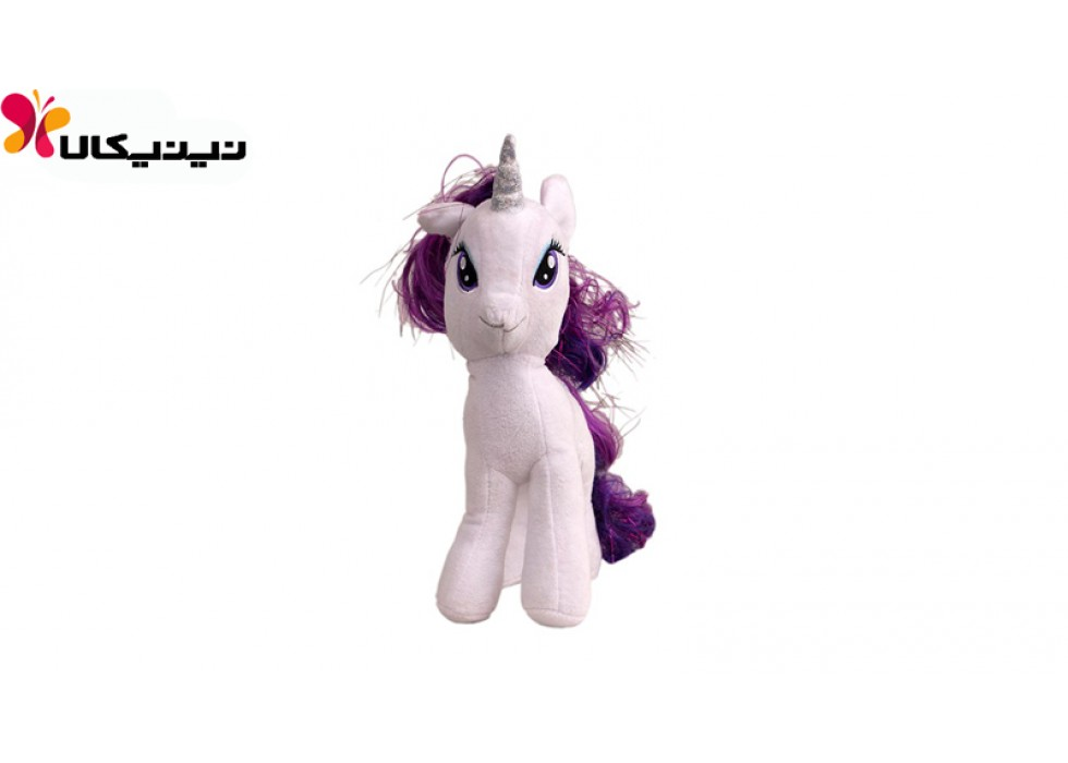 عروسک پولیشی اسب پونی رنگ سفید