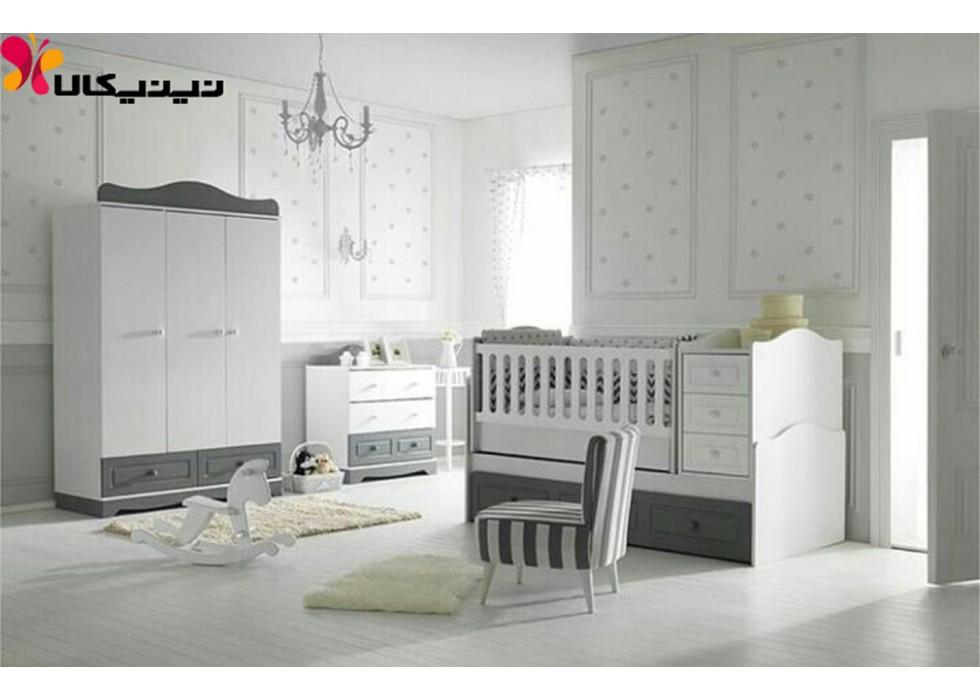 سرویس خواب نوزاد و نوجوان آمیسا مدل پارسیان