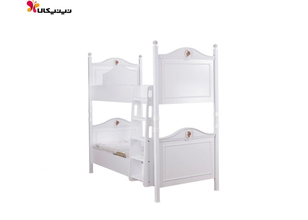 تخت خواب دو طبقه آپادانا مدل رز