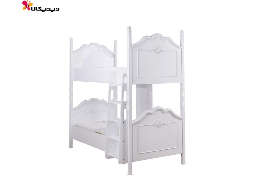 تخت خواب دو طبقه آپادانا مدل گلوریا