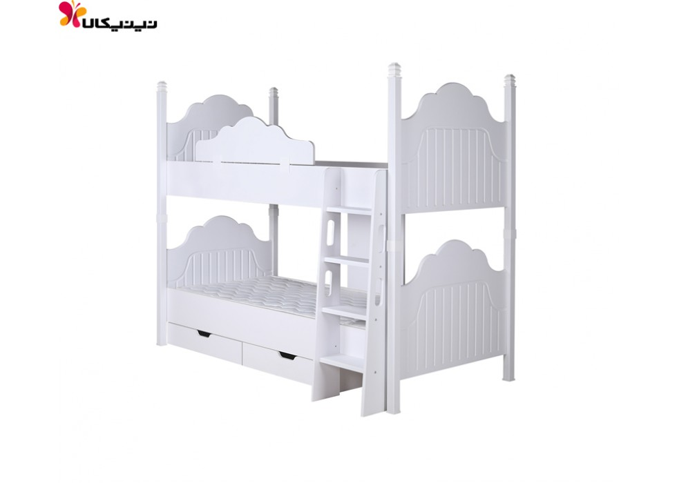 تخت خواب دو طبقه آپادانا مدل پالی