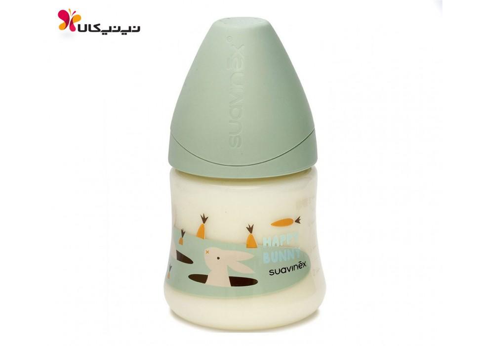 شیشه شیر  150 میل  0 تا 6 ماه سواوینکس-Suavinex کد 3800141 پسرانه