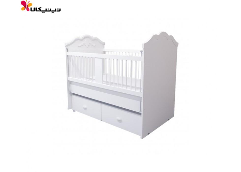 تخت گهواره ای نوزاد آپادانا مدل گلوریا