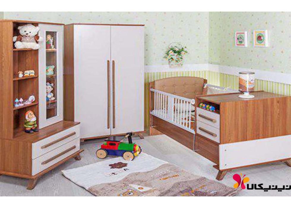 سرویس خواب نوزاد و نوجوان آپادانا مدل فلورانس