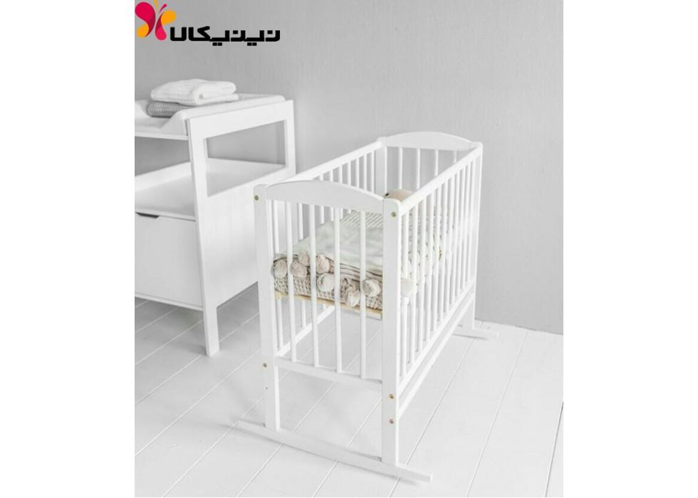 تخت و گهواره نوزاد آمیسا مدل ماهانا