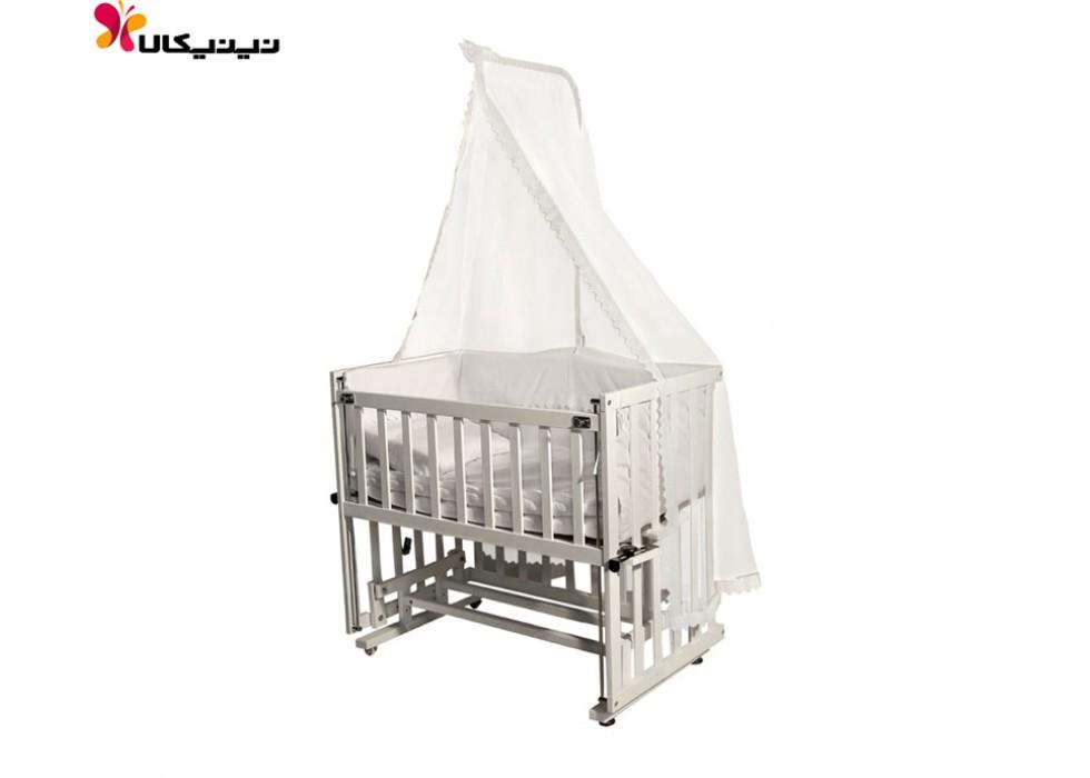 تخت نوزاد کنار مادر آپادانا مدل مستطیل