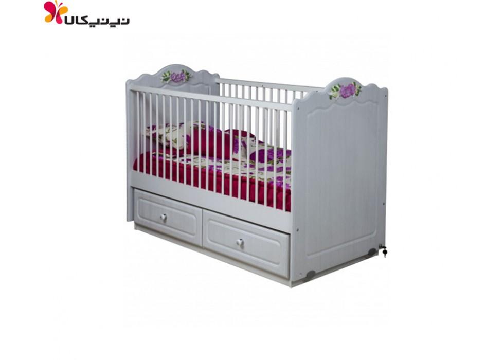تخت گهواره ای نوزاد آپادانا مدل سپیده