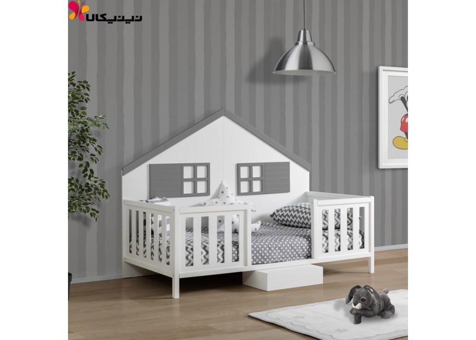 تخت خواب کودک و نوجوان آمیساچوب مدل سورنا