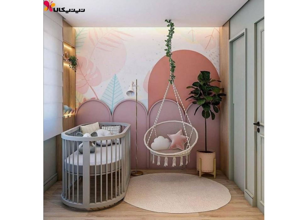 تخت خواب نوزاد و کنار مادر آمیساچوب مدل پریما